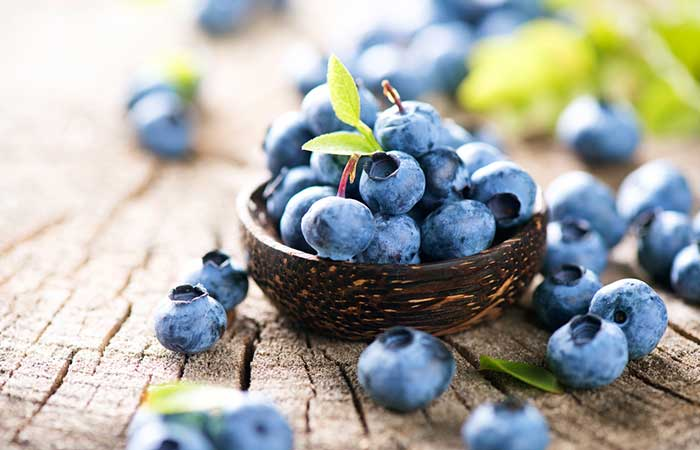 foods that make you poop - Blueberries
