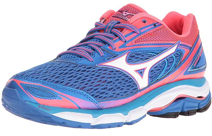 Best Running Shoes For Flat Feet - Mizuno Wave Inspire 13