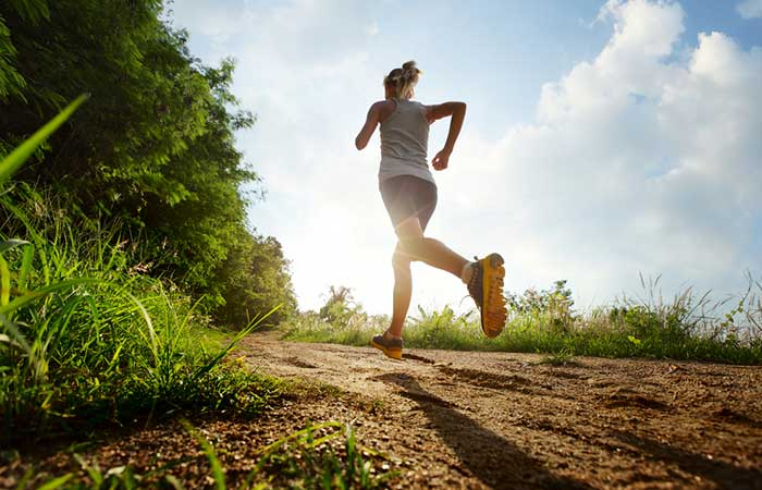 how to get periods faster - Running