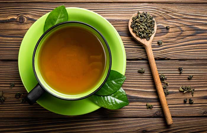Home Remedies For Period Cramps - Green Tea