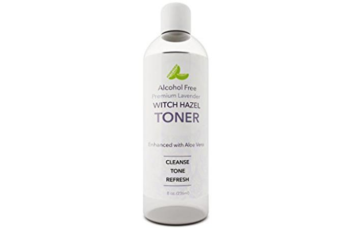 7. HoneyDew Witch Hazel Toner