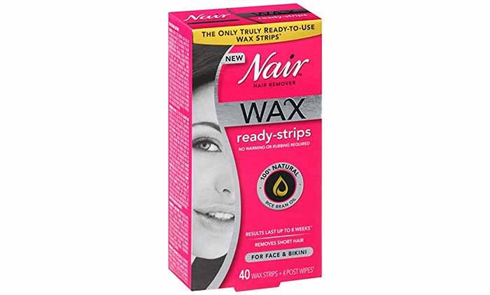 Wax Strips - Nair Hair Remover Wax Ready-Strips