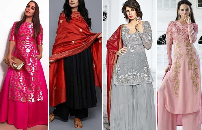 Traditional Dresses - Palazzo Suits