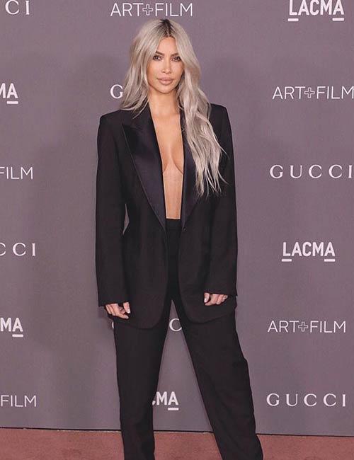 Kim Kardashian Looks - Pantsuit