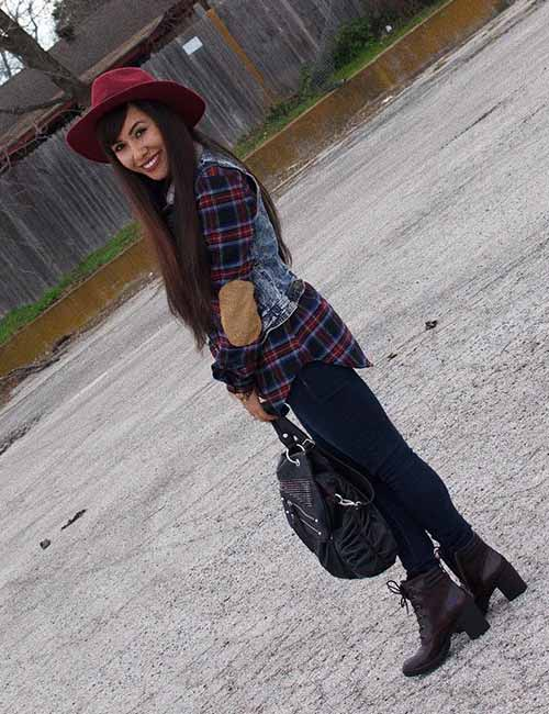 How To Wear A Flannel - The Cowboy Style