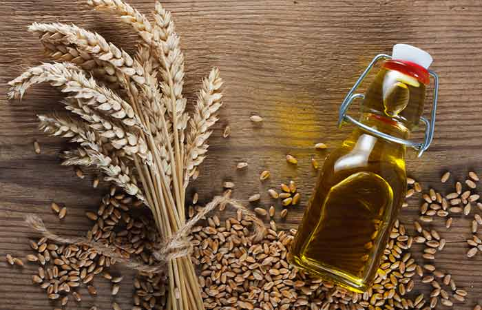 7. Wheat Germ Oil And Aloe Vera