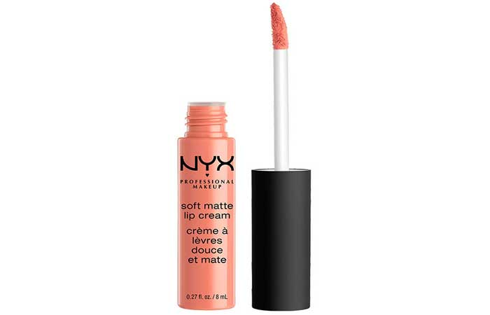 8. NYX Soft Matte Lip Cream Buenos Aires Review