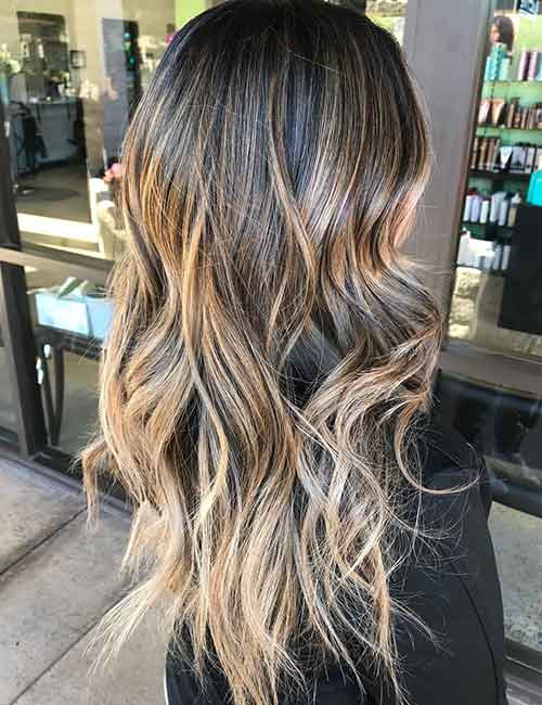 Blonde Balayage - Dark Blonde Balayage