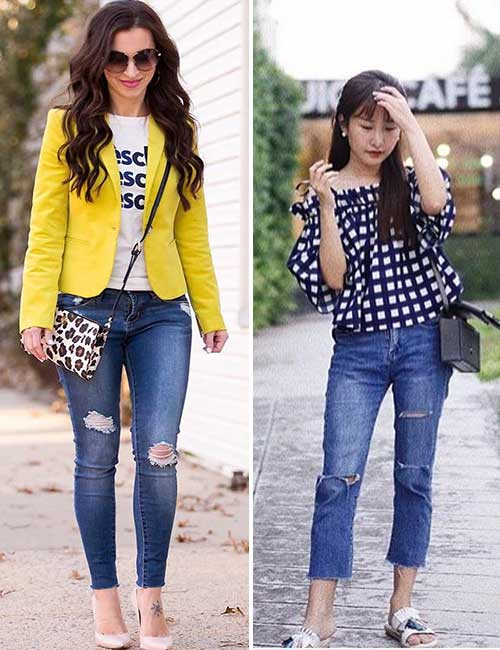 8. Jeans For Petite Women