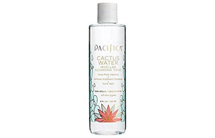 8. Pacifica Cactus Water Cleansing Tonic