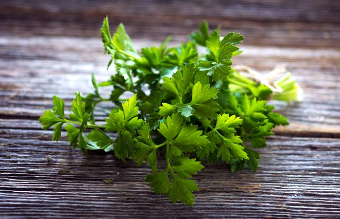 how to get periods faster - Parsley Leaves