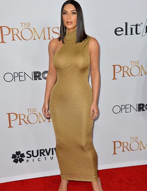 Kim Kardashian Looks - The Red Carpet Dress