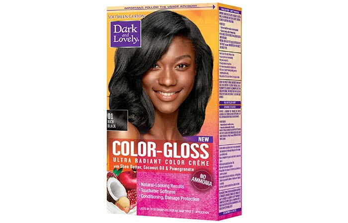 Semi Permanent Hair Color - Dark & Lovely Color Gloss Ultra Radiant Color Creme