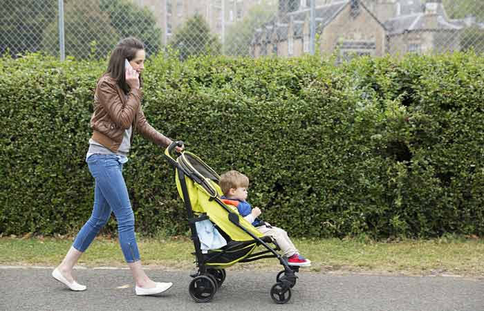 9. In Your Child's Stroller
