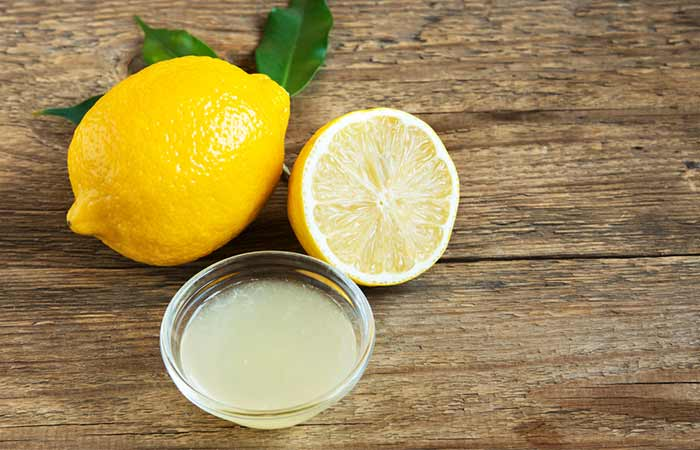 9. Lemon Juice