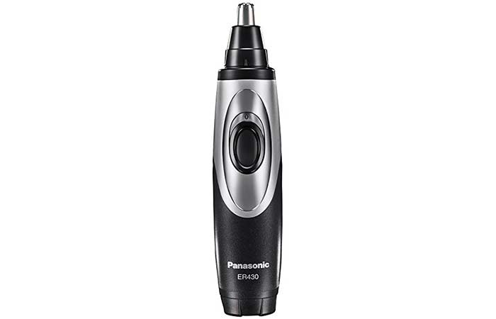 Ear And Nose Hair Trimmers - Panasonic ER430K Vacuum Trimmer