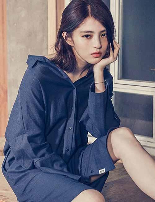 Korean Fashion - Shirt Dress