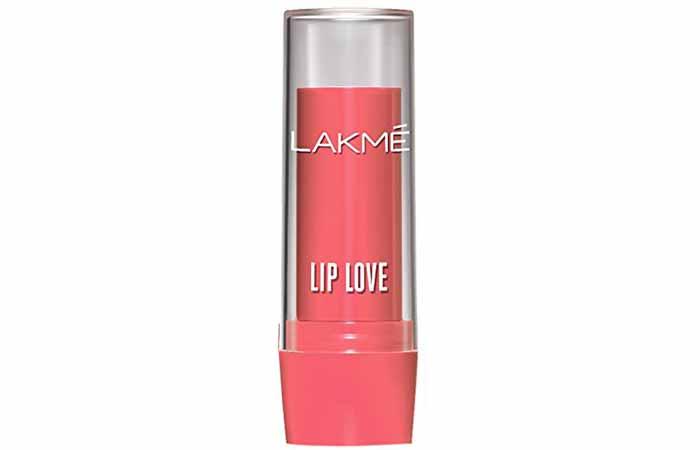 Lakme Lip Love Lip Care Apricot Shade