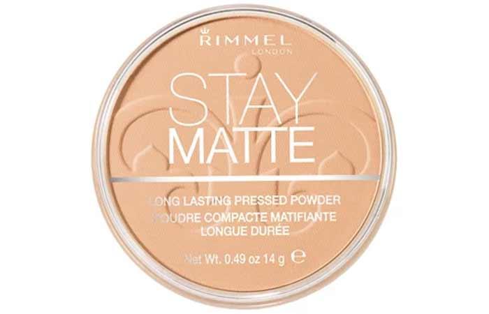 Buff Beige Shade In Rimmel Stay Matte Pressed Powder