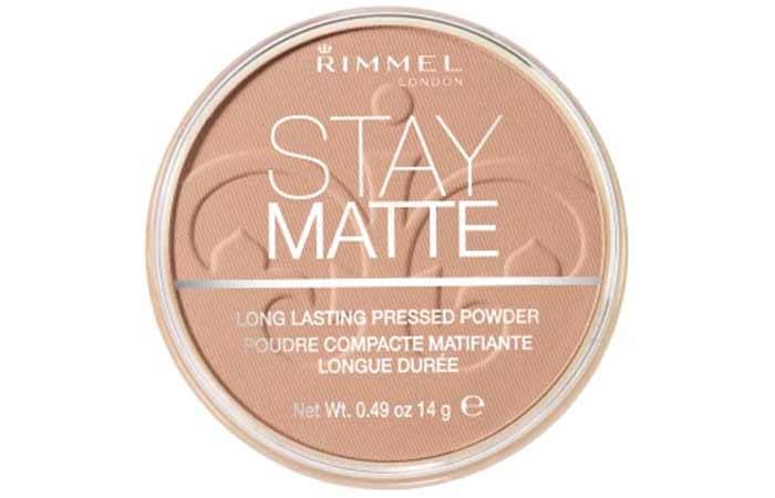 Creamy Beige Shade In Rimmel Stay Matte Pressed Powder