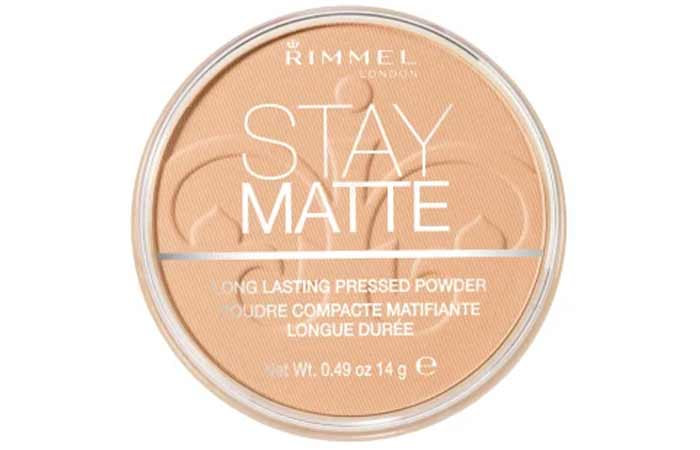 Nude Beige Shade In Rimmel Stay Matte Pressed Powder
