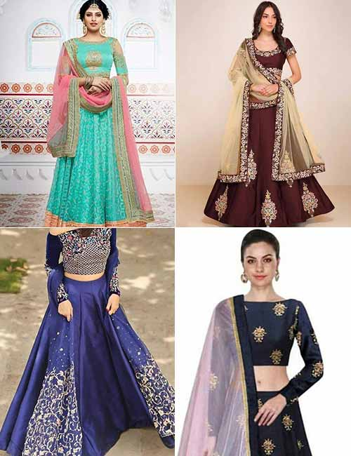 Dupatta - How To Drape A Lehenga Dupatta To Look Slim