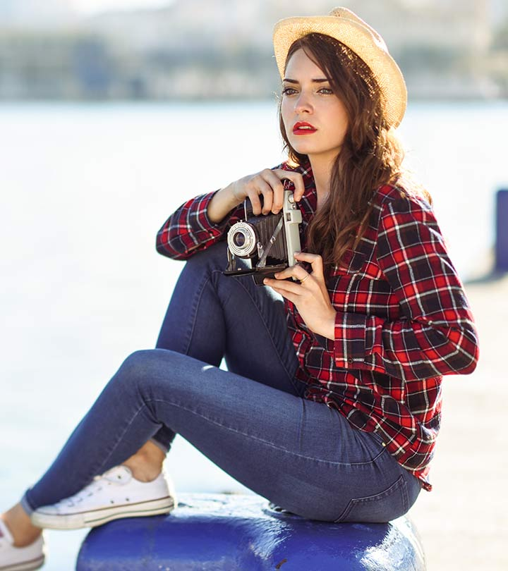 c0c392fed How To Wear A Flannel Plaid Shirt – Outfit Ideas