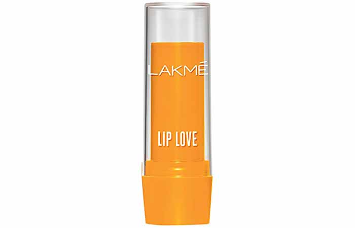 Lakme Lip Love Lip Care Mango Shade