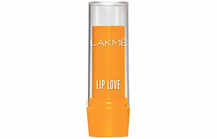 Lakme Lip Love Lip Care Mango Shade