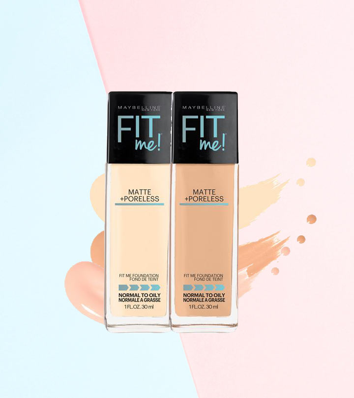 Maybelline Fit Me Matte And Poreless Foundation Review And Shades