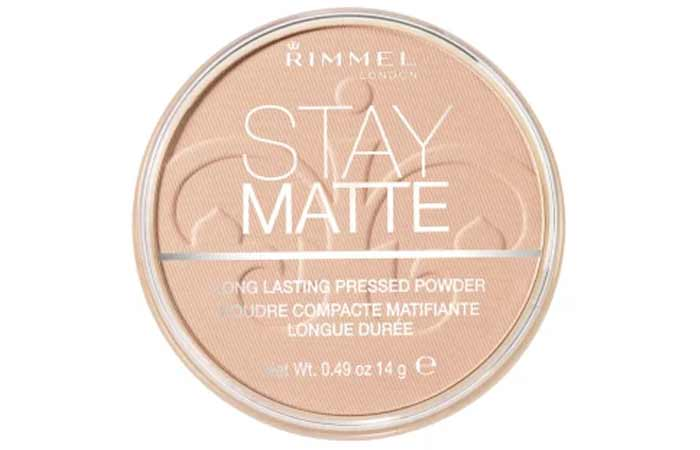 Natural Shade In Rimmel Stay Matte Pressed Powder