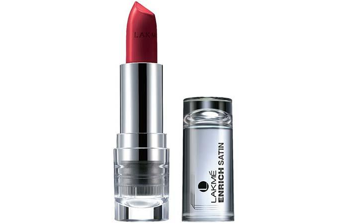 Lakme Enrich Satin Lipstick Shades - P128