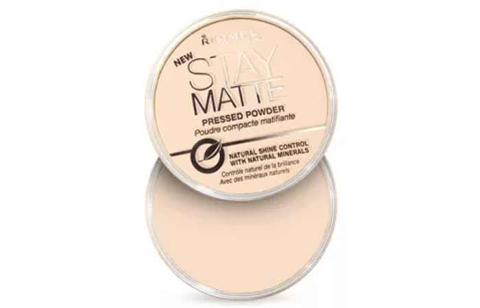 Sandstorm Shade In Rimmel Stay Matte Pressed Powder
