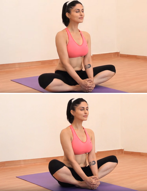 Seated Butterfly Pose