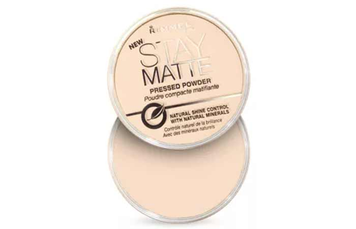 Transparent Shade In Rimmel Stay Matte Pressed Powder