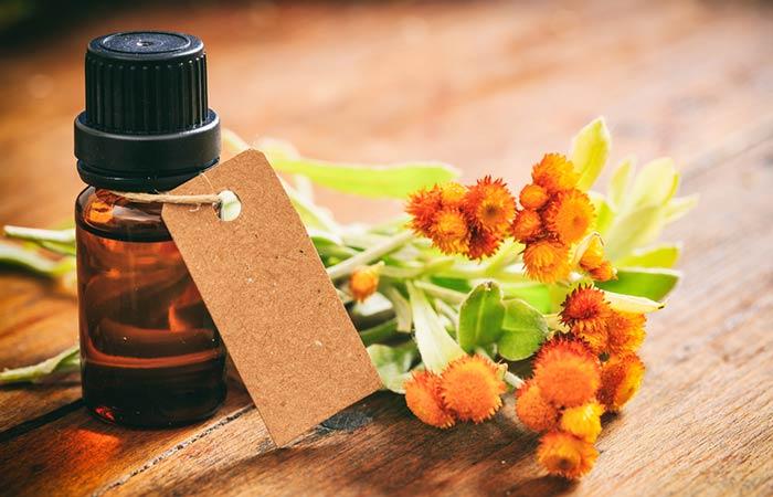 b. Helichrysum Oil