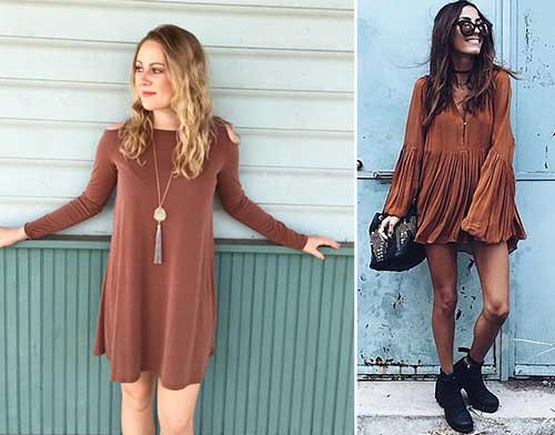 Colors That Go With Brown - Dress