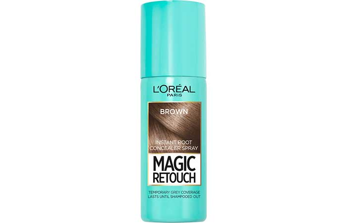 Hair Root Touch Up - L'Oreal Paris Magic Retouch Root Cover Up Spray