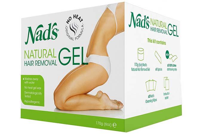 Waxing Kits - Nad's Natural Hair Removal Gel Kit