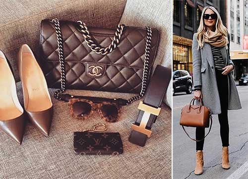 Colors That Go With Brown - Accessories