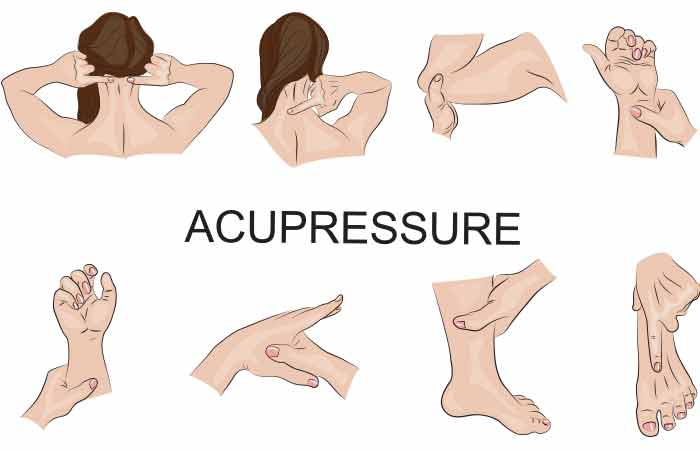 Pinched Nerve - Acupressure