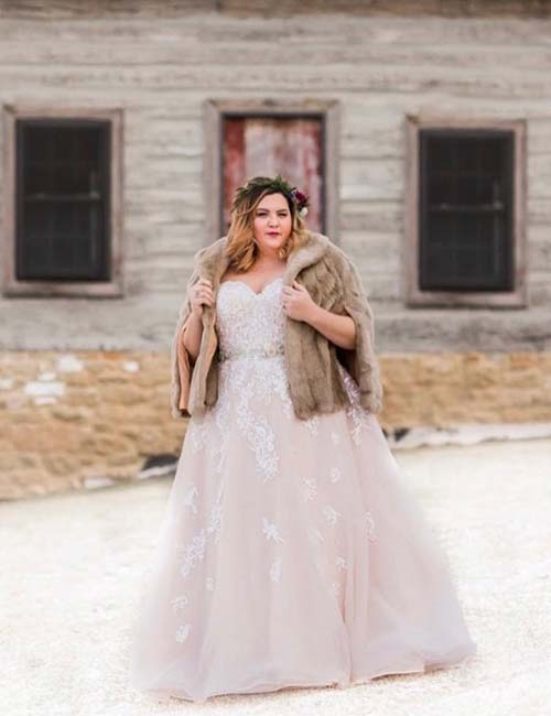 f0d263719d3 Plus Size Wedding Dresses - Ball Gown Style Wedding Dress In Lace