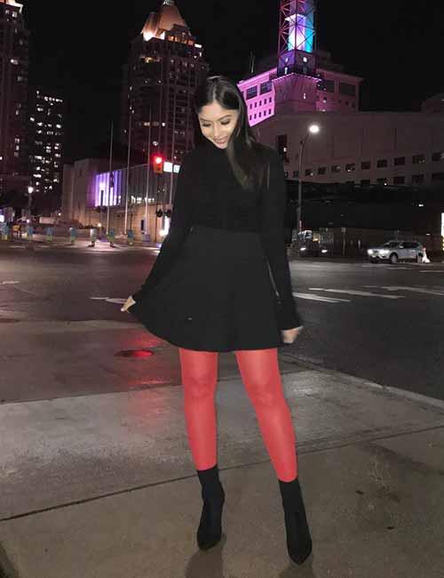 Skater Skirts - Black Skater Skirt