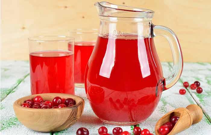 11. Cranberry Juice