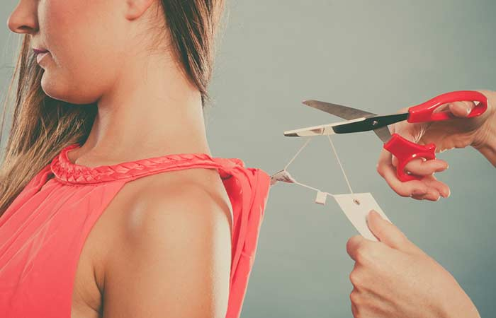 11. Remember To Take Off Tags When Wearing New Clothes