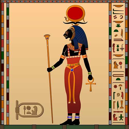 12. Sekhmet (Nov 27 – Dec 26)