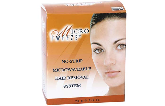 Waxing Kits - Micro Tweeze No-Strip Microwaveable Hair Removal System