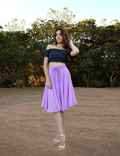 Skater Skirts - Pleated Skater Skirt