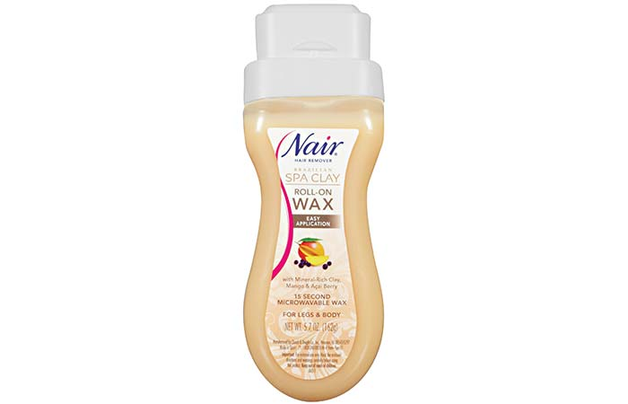 Waxing Kits - Nair Brazilian Spa Clay Roll-On