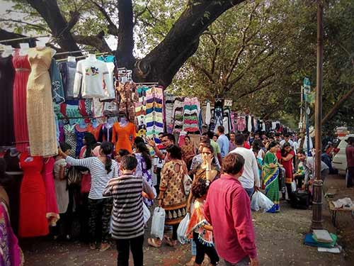 Street Shopping Places In Mumbai - Fashion Street